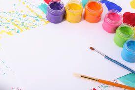 colores y lienzo